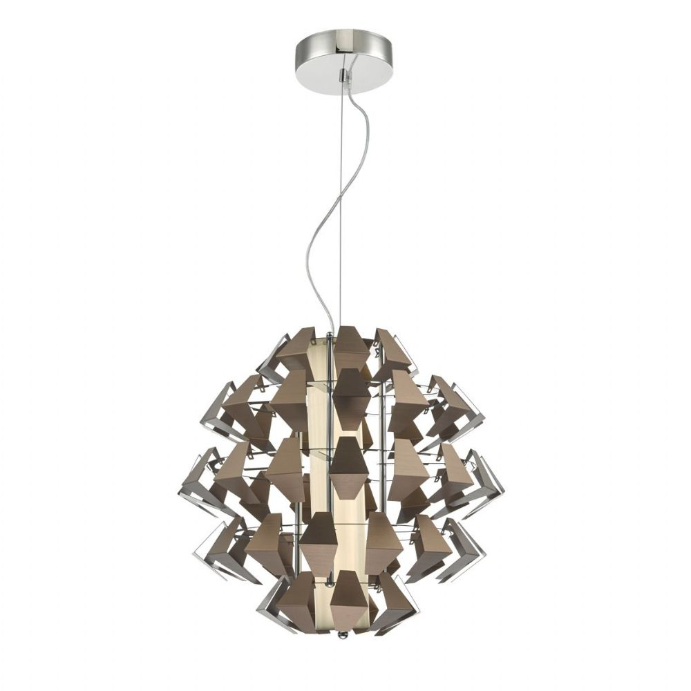 Falcon 1lt Pendant Suspension Bronze 35w LED, Double Insulated BXFAL8663-17